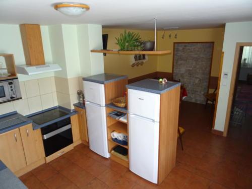 společná kuchyňka - velký apartmán