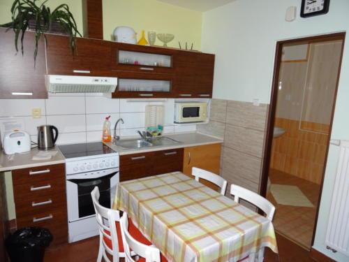 společná kuchyňka - malý apartmán